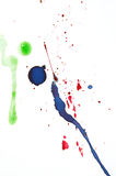 Ink splats stock images