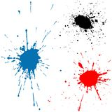 Ink Splats Stock Photos