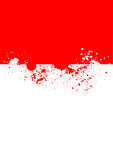 Ink splats. Detailed ink splats on white background Royalty Free Stock Images
