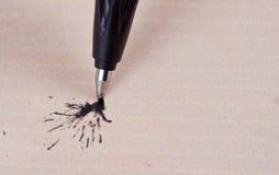 Ink Splatter. Royalty Free Stock Photos