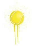 Ink splatter tennis Stock Photo