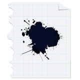 Ink spot Royalty Free Stock Photography