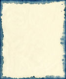 Ink stained paper background Stock Images