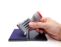 Ink stamper Stock Image