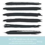 Ink strokes. vol.5 Stock Image
