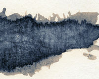 Ink texture Stock Image