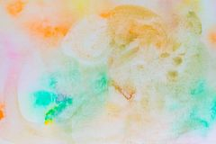 Ink texture, watercolor color background, watercolor paint splash royalty free stock photos