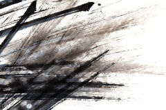 Ink textutre. Background on paper Stock Photo
