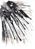 Ink textutre. Background on paper Royalty Free Stock Photography