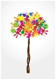 Ink tree Stock Photo