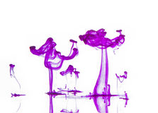 Ink in water Stock Photos