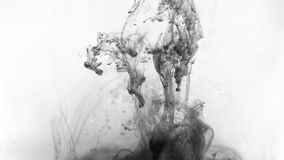 Ink in water Royalty Free Stock Image