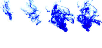 Ink in water Royalty Free Stock Images