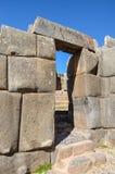 Inka doorway Royalty Free Stock Photos