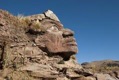 Inka-Gesicht Stockfotografie