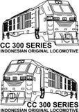 INKA-lokomotiv Fotografering för Bildbyråer