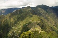 Incas miasto Mach Pichu w Cusco, Peru Zdjęcia Stock