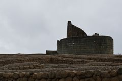 Inka ruina w Ecuador obrazy royalty free