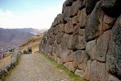 Inka ruiny Obrazy Royalty Free