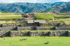 Inka ruiny w Cusco, Peru fotografia royalty free