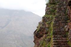 Inka-Spur, Peru stockfoto