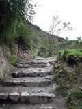 Inka-Spur, Peru stockbilder