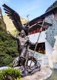 Inka statua w Peru Zdjęcia Stock