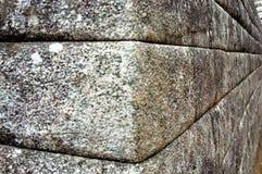 Inka-Steinwand stockfoto