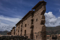 Inka-templo Foto de Stock