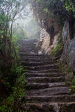 Inka Trail at Machu Picchu Royalty Free Stock Images