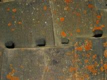 Inka-Wand - Peru Stockbild