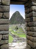 Inkafenster stockfoto