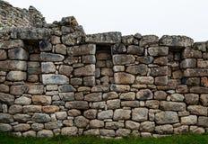 Inkafensterruine stockbilder