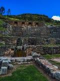 Inkafonteinen in Cusco Royalty-vrije Stock Foto's