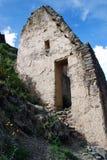 Inkagebäudestruktur Stockfoto