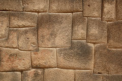 Inkagranitsteine Stockbild
