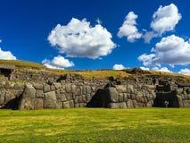 Inkametselwerk dichtbij Cusco Royalty-vrije Stock Afbeeldingen