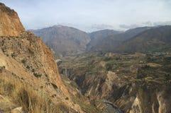 Inkas Schlucht Lizenzfreie Stockfotos