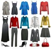 Inkasowa moda odziewa fotografia stock