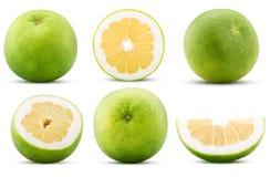 Inkasowa sweetie cytrusa owoc, cała, ciie w połówce, plasterek obrazy royalty free