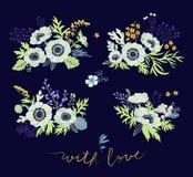 Inkasowi dekoracyjni ornamenty kwiaty Fotografia Royalty Free