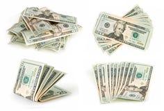 inkasowi dolary zdjęcie royalty free