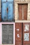 inkasowi drzwi Fotografia Royalty Free