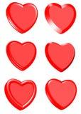 inkasowi dzień serca valentines Obraz Stock