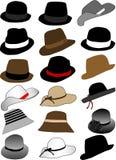 inkasowi kapelusze royalty ilustracja