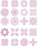 inkasowi koronkowi ornamenty Fotografia Stock