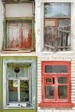 inkasowi okno Fotografia Royalty Free