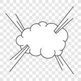 Inkasowi stubarwni komiczni efekty d?wi?kowi ilustracji