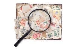 inkasowi znaczek pocztowy Zdjęcie Stock