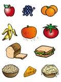 inkasowy jedzenie royalty ilustracja